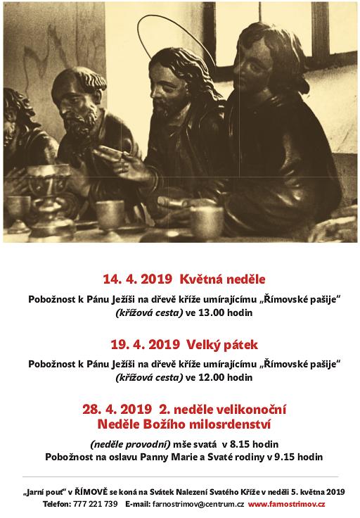 Pašijová cesta Římov 2019