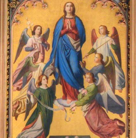 15. srpna Nanebevzetí Panny Marie